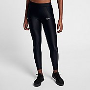 Womens Nike Power Speed 7/8 Tight Tights & Leggings Pants - Black L