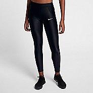 Womens Nike Power Speed 7/8 Tight Tights & Leggings Pants - Black M