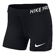 Nike Girls Pro Boy Short Compression & Fitted Shorts - Black YL