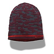 Mens Under Armour Reversible Graphic Beanie Headwear