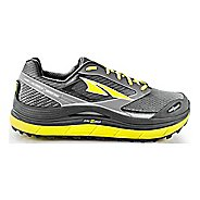 Mens Altra Olympus 2.5 Trail Running Shoe - Grey/Lime 11.5