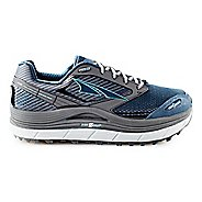 Womens Altra Olympus 2.5 Trail Running Shoe - Grey/Blue 6.5