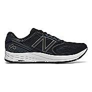 Mens New Balance 890v6 Running Shoe - Black/White 15