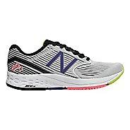 Womens New Balance 890v6 Running Shoe - White/Black 8.5