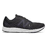 Mens New Balance Fresh Foam Zante v4 Running Shoe - Black/Phantom 7