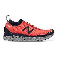 Womens New Balance Fresh Foam Hierro v3 Trail Running Shoe - Coral/Pigment 6.5