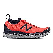 Womens New Balance Fresh Foam Hierro v3 Trail Running Shoe - Coral/Pigment 7.5