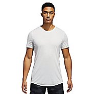 Mens adidas Supernova Short Sleeve Tee Technical Tops - Crystal White XL