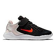 Kids Nike Free RN 2018 Running Shoe - Black/Crimson 1Y
