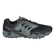 Mens Merrell Agility Peak Flex 2 E-Mesh Trail Running Shoe - Black/Grey 12