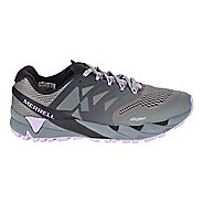 Womens Merrell Agility Peak Flex 2 E-Mesh Trail Running Shoe - Charcoal 9.5