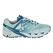 Womens Merrell Agility Peak Flex 2 E-Mesh Trail Running Shoe - Legion Blue 9.5