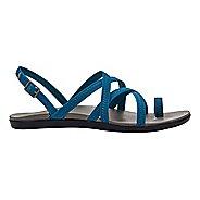 Womens OluKai Kalapu Sandals Shoe - Blue/Grey 5