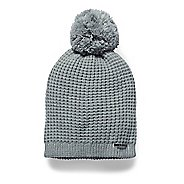 Womens Under Armour Favorite Waffle Pom Beanie Headwear
