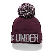 Womens Under Armour Graphic Pom Beanie Headwear