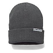 Womens Under Armour Boyfriend Cuff Beanie Headwear - Carbon Heather