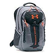 Under Armour Storm Contender Backpack Bags - Steel/Orange