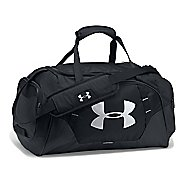Under Armour Undeniable 3.0 Small Duffle Bags - Black/Black/Silver