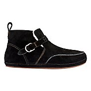 Womens OluKai Ola Hou Casual Shoe - Black/Black 7