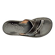 Womens OluKai Paniolo Slide Sandals Shoe - Charcoal/Charcoal 7