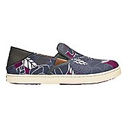 Womens OluKai Pehuea Print Casual Shoe - Dark Shadow/Magenta 7
