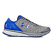 Mens Under Armour Charged Escape Running Shoe - Grey/Grey/Blue 11