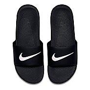 Mens Nike Kawa Slide Sandals Shoe - Black/White 11