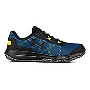 Mens Under Armour Toccoa Trail Running Shoe - Blue/Bitter/Black 11