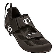 Mens Pearl Izumi Tri Fly Select V6 Cycling Shoe - Black/Grey 6.5