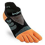 Womens Injinji Ultra Run No Show CoolMax Socks - Tide XS/S
