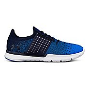 Womens Under Armour Speedform Slingwrap Fade Running Shoe - Navy/Mako Blue 9.5