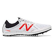 Mens New Balance LD5Kv5 Track and Field Shoe - White/Flame 8