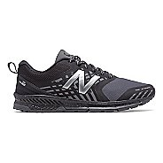 Mens New Balance Nitrel Trail Running Shoe - Black/Castlerock 11