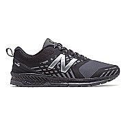 Mens New Balance Nitrel Trail Running Shoe - Black/Castlerock 9.5