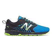 Mens New Balance Nitrel Trail Running Shoe - Black/Bolt 14