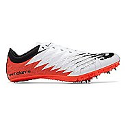 Mens New Balance Vazee Verge Track and Field Shoe - White/Flame/Black 9.5
