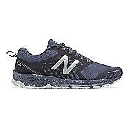 Womens New Balance Nitrel Trail Running Shoe - Thunder/Black 7