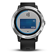 Garmin vivoactive 3 GPS Smartwatch Monitors - Black/Stainless