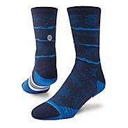 Mens Stance Mesa Crew Socks - Royal M