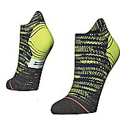 Womens Stance Distance Run Tab Socks - Green M