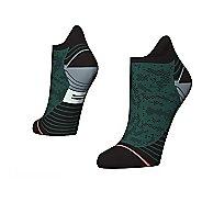 Womens Stance Interval Run Tab Socks - Green M
