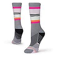 Womens Stance Deadlift Training Crew Socks - Grey M