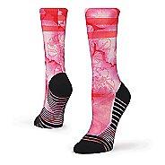 Womens Stance Zanzibar Training Crew Socks - Pink S