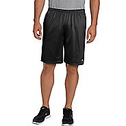 Mens Champion Long Mesh with Pockets Unlined Shorts - Swiss Blue XXL