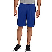 Mens Champion Long Mesh with Pockets Unlined Shorts - Surf The Web XL