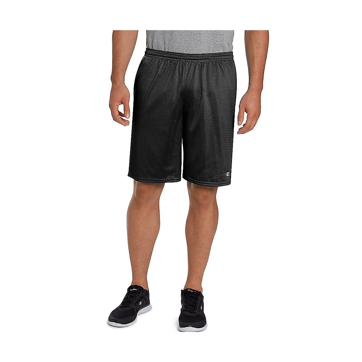 da7767fec937 Mens Champion Long Mesh with Pockets Unlined Shorts at Road Runner Sports