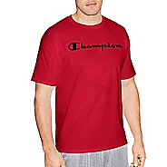 Mens Champion Graphic Jersey Tee Short Sleeve Technical Tops