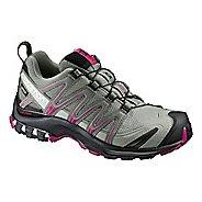 Womens Salomon XA Pro 3D GTX Trail Running Shoe - Shadow/Black/Sangria 5.5