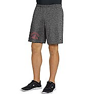 Mens Champion Jersey -Graphic Unlined Shorts - Granite Heather S