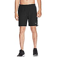 Mens Champion Marathon Lined Shorts - Black/Stealth S
